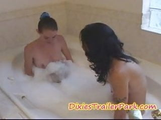 Chat to naked girls - Hot water, bare feet and two naked girls