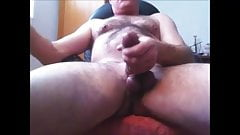 Sweet daddy with fat cock