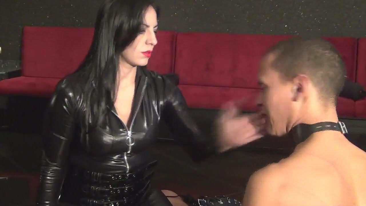 Two slaves in latex