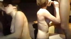 2 couples fuck on cam
