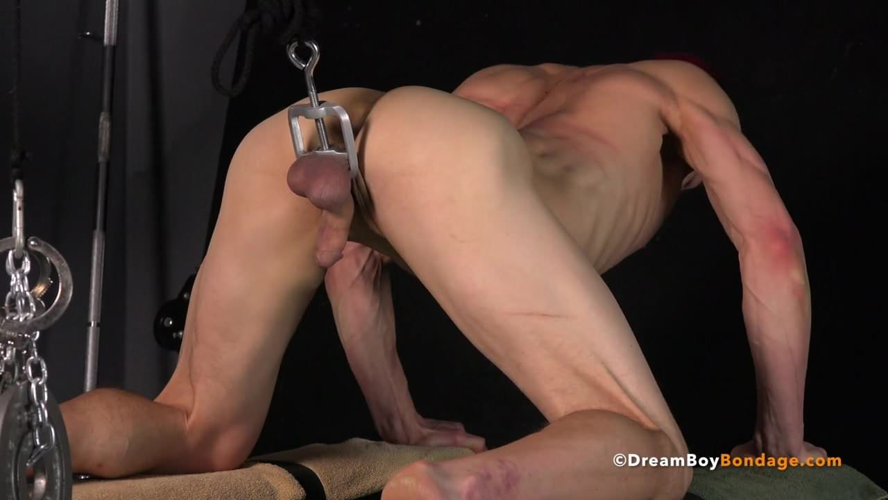 Gagged gay bdsm