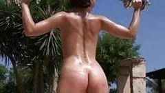 Training of her body