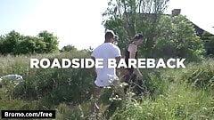Rami Mickky with Thomas DeCastro at Roadside Bareback Scene