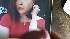 Caroline Get Cum Tribute In Red From Tyao4373