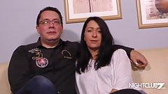 40er MILF Paar bumst beim PornoCasting