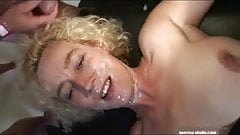 Spermastudio - Steffi gets several facials - P1