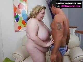 Pussy Bbw Pounding Over Dick In Her Chubby Ass Plumper