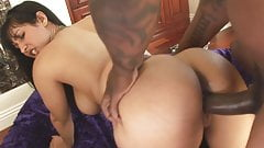 VODEU - Booty latina gets fucked by a black cock