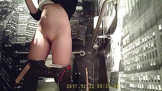 Hidden Cam In Bathroom Part 1