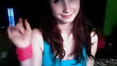 cute tight teen flashes on webcam chat