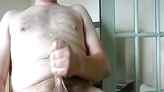 wank and big load