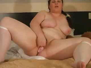 My Horny Chubby Ex GF masturbating wet pink pussy
