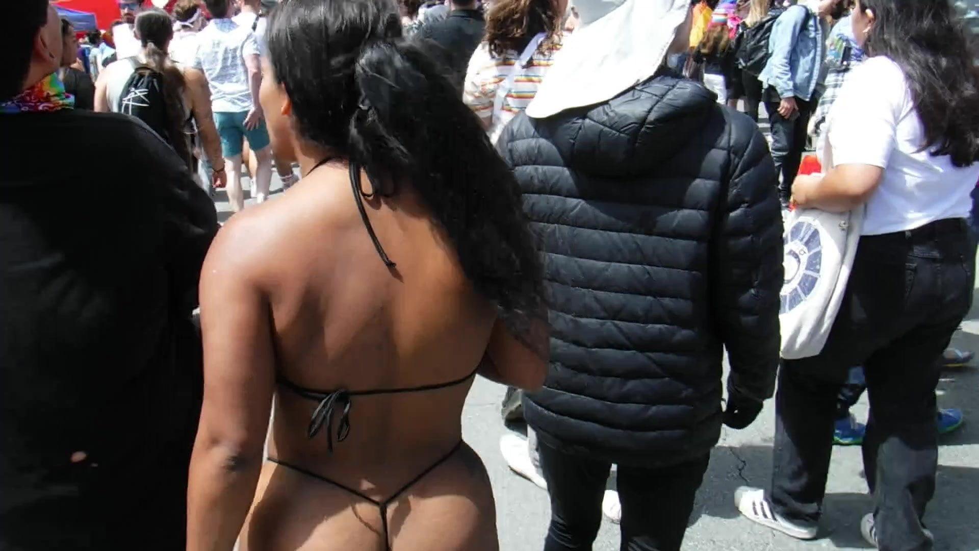 Delight Weekend 2019 – 14: Blasian String Bikini Amazon