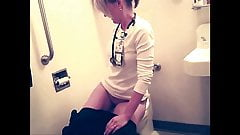 WC Blonde Voyeur