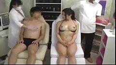 Sexual massage at a couple esthetics !