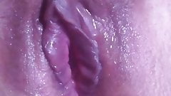 Wet Pussy Closeup