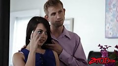 Teen whore Whitney Wright sucks and fucks her stepdad