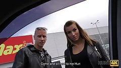 HUNT4K. Nerdy boyfriend isnt against selling his girlfriend