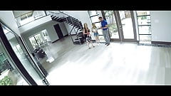 Sneaky stepdaughter gets properly fucked by her stepdad's Thumb