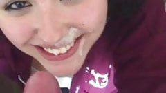 Teenage Cum Facial