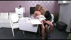 hot lesbian sex at casting