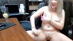 Hot secretary at web show 2
