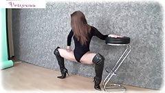 Super flexible girl