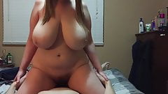 Busty chubby boobs heavy