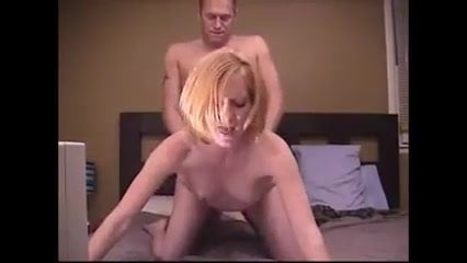 Super sexy milf looks at camera while fucked