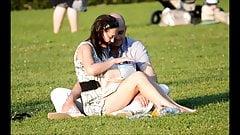SpyCams Voyeur Public park Ups Girl