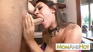 latina MILF Raylene gets puffy pussy pounded