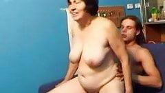 Granny Fucks the Lad
