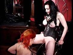 2 women getting wet