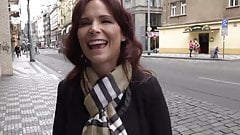Naughty and Busty American MILF Used By Tourist In Prague