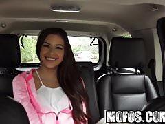 Mofos - Stranded Teens - Petite Latina Gives a Good Blowjob