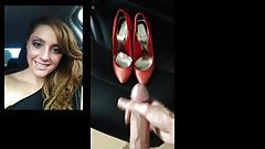Cum Tribute - Jasmine' Sexy Heels