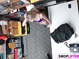 Foxy Gal Emma Gets Banged For Shoplifting