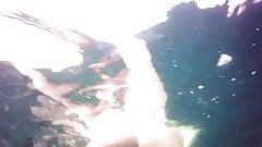 Lovely girl filmed under the water !