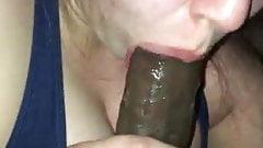 Nice girl blowjob - curvy - (BBC) - amateur