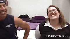 Cock Sucking BBW Lorelie Stripped