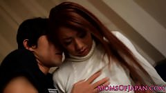 Japanese mom facefucked by hard cock