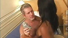 Horny Old Man fucks a Gorgeous Brazilian Girl