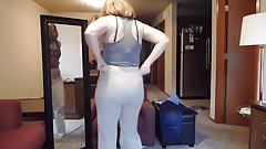 Milf Stepmom Changing Clothes