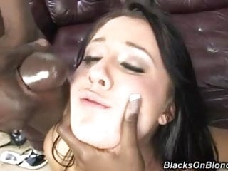 White girl used and dominated by black couple