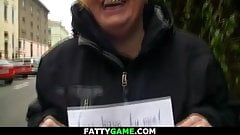 He cheats girlfriend with foxy-haired big boobs plumper