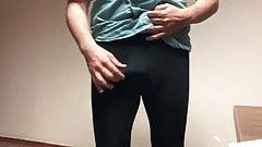 Azeri man in leggings and spandex