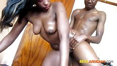Real African Amateur Couple Fucks
