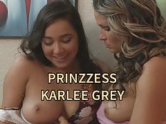 Karlee Grey and her older Sorosity Sister