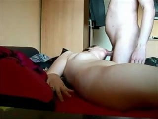 Gorgeous chubby ass fucked and creampied