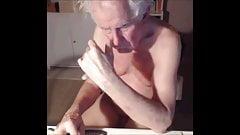 white haired grandpa